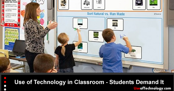Use of Technology in Classroom - Students Demand It