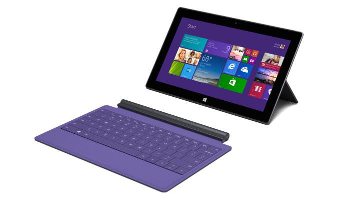 surface with keyboard detached