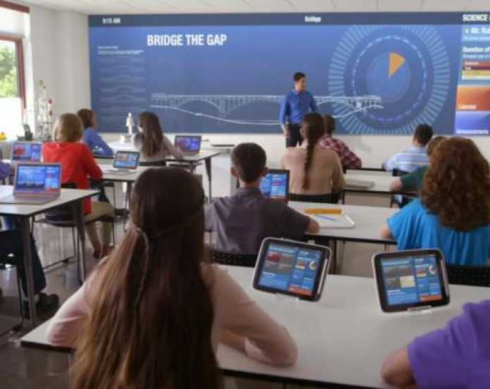 Image result for classroom with devices