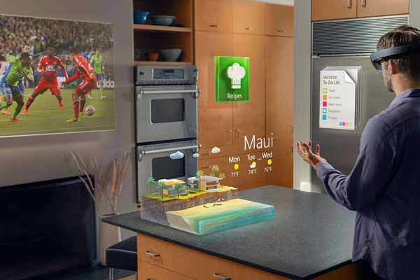 HoloLens is filled with countless entertainment features.