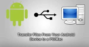File transfer from Android to PC