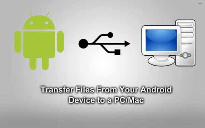 How to Transfer Your Files from your Android device to PC: Multiple