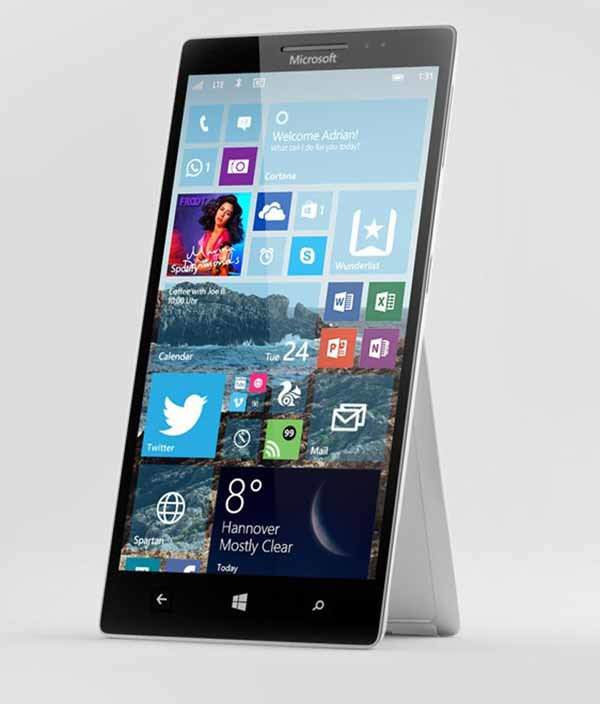Mircosoft surface phone concept