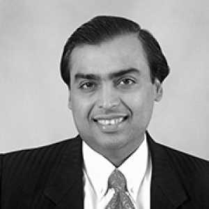 Mukesh Ambani | Chairman and Managing Director, Reliance Industries Limited India
