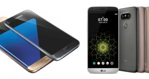 Samsung Galaxy S7 VS LG G5: Clash of Titans