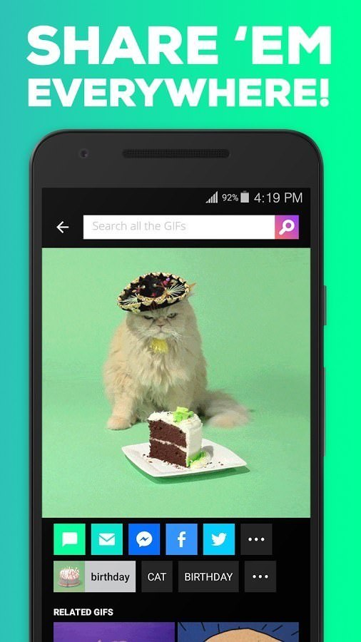 Giphy best android apps