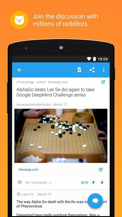 REddit Official app Best android apps