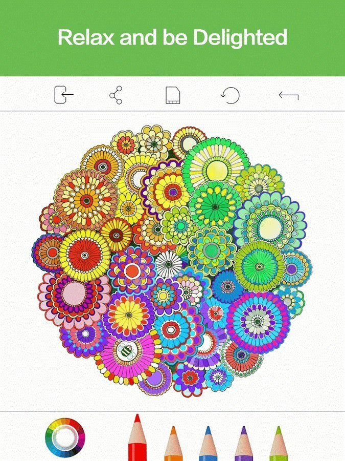 Recolor Coloring Book Best Android Apps