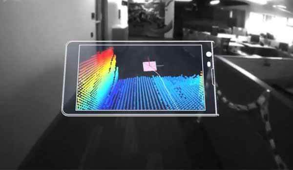 Tango technology scans your surroundings in real time
