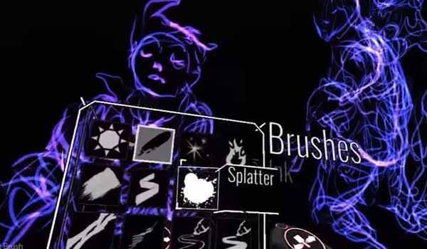Tilt Brush from user perspective