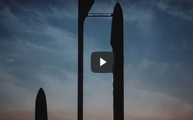 SpaceX Releases video of its Interplanetary Transport System