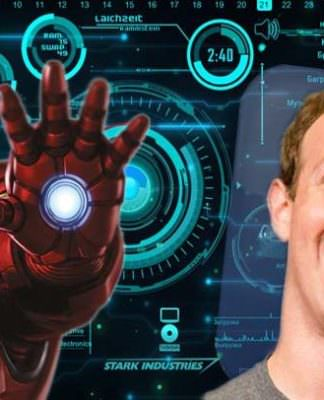 Iron Man Robert Downey Jr. Mark Zuckerberg Jarvis
