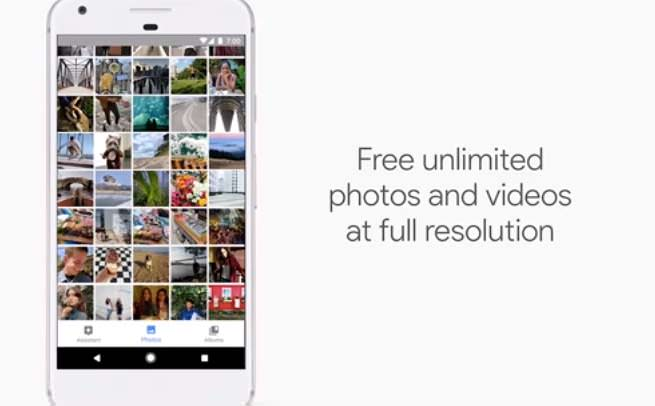 Unlimited Google Photos
