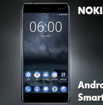 Android OS Nokia 6 smartphone