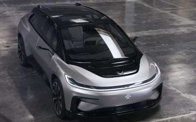 Faraday Future FF91 top view