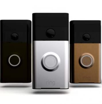 Ring WiFi Video Doorbell faceplate varieties