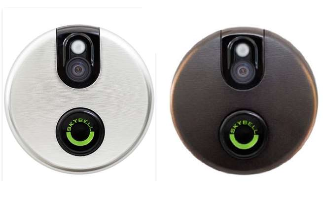 Skybell WiFi Doorbell Bronze and Silver