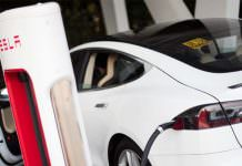 Tesla Model S Recharging