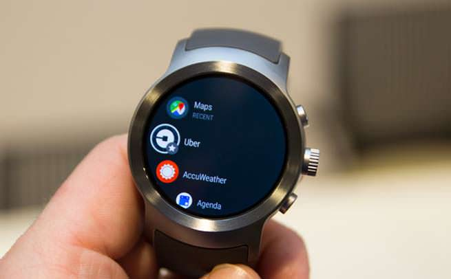 Android Wear 2 smartwatch