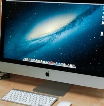 Apple iMac new desktop pc