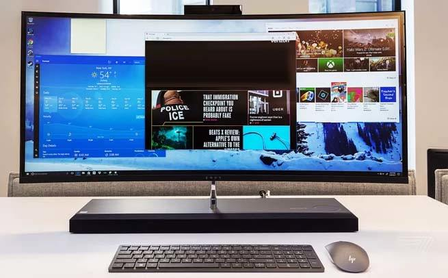 HP Envy Curved 34 new desktop pc