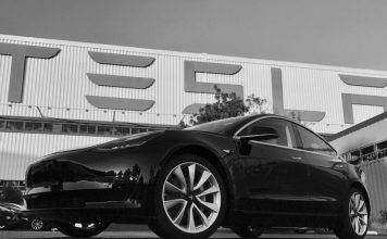 Tesla Finished Their First Model 3, And Musk Will Be The One To Drive It