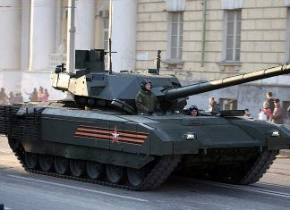 Russia Deploy New Tank that is Tough Enough to Run on Mars