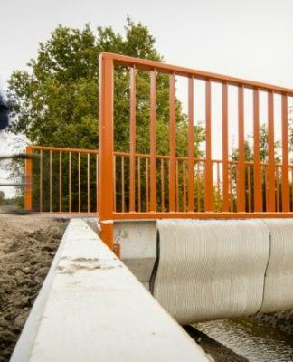 World's first 3D-printed bridge for cyclists makes debut in the Netherlands