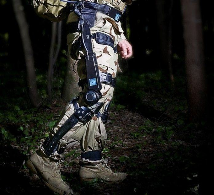 Exoskeleton could soon Help Soldiers Carry Heavy Wquipment