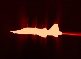 NASA Produces New Stunning Photo High-Speed Jet Sonic Boom Wave