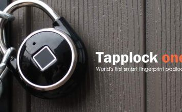 Tapplock One is the First Real Smart-Padlock